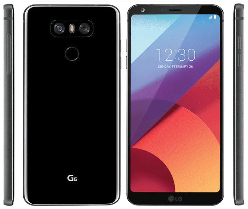 Утечка официальных пресс-рендеров LG G6