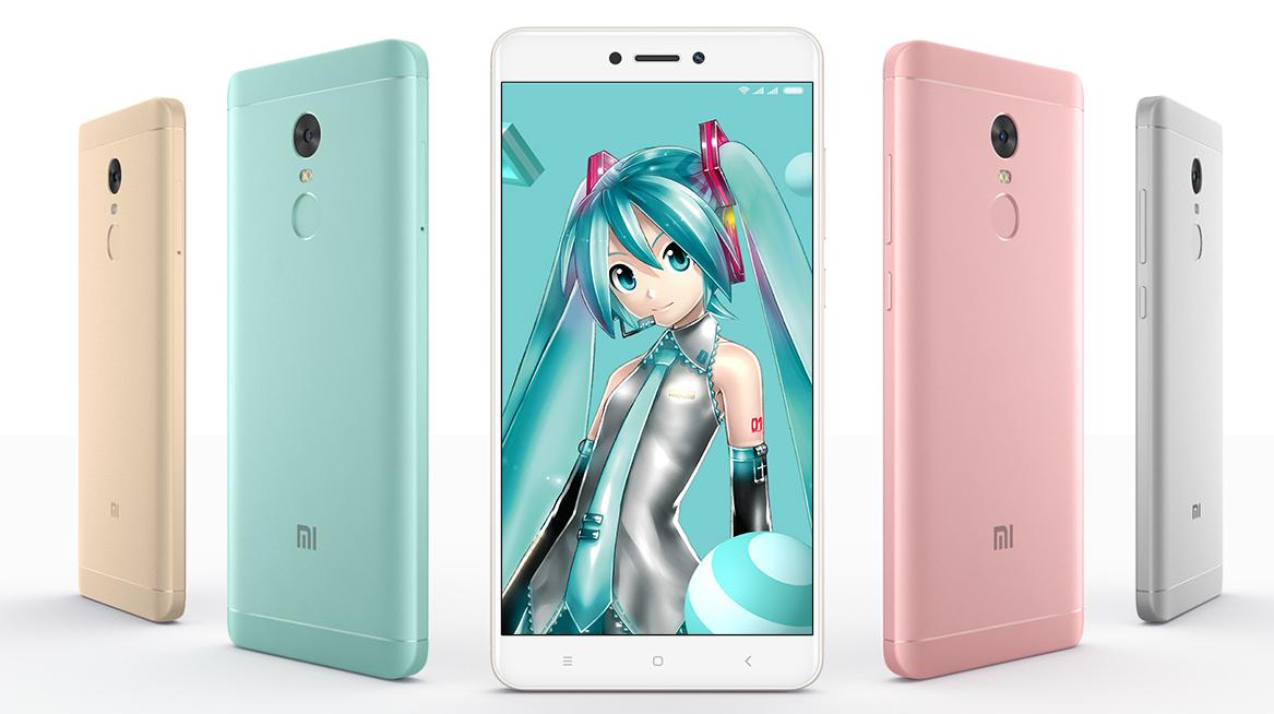 Xiaomi представила Redmi Note 4X 'Hatsune Miku'