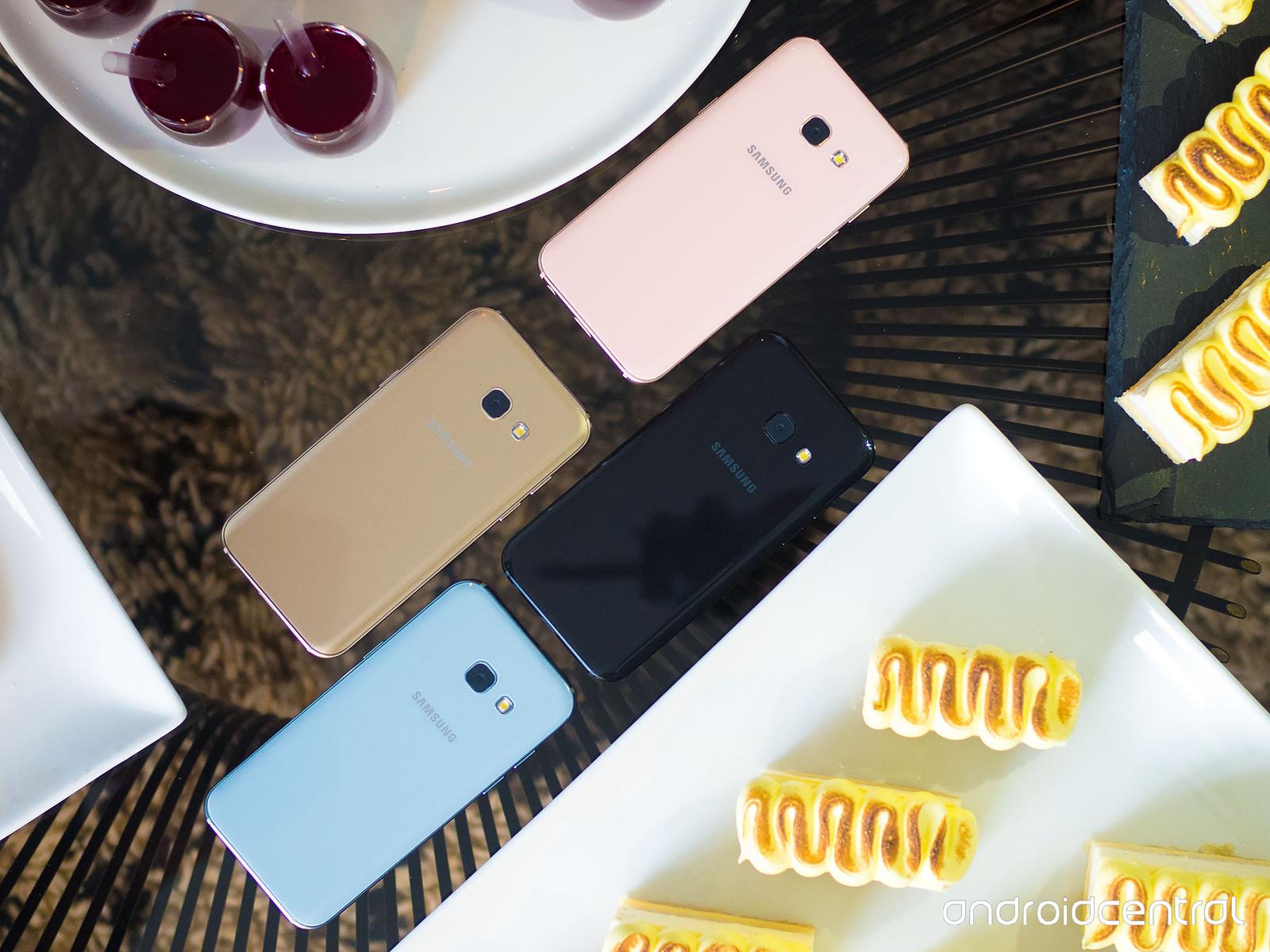 Samsung представил Galaxy A5 и Galaxy A3 в Великобритании