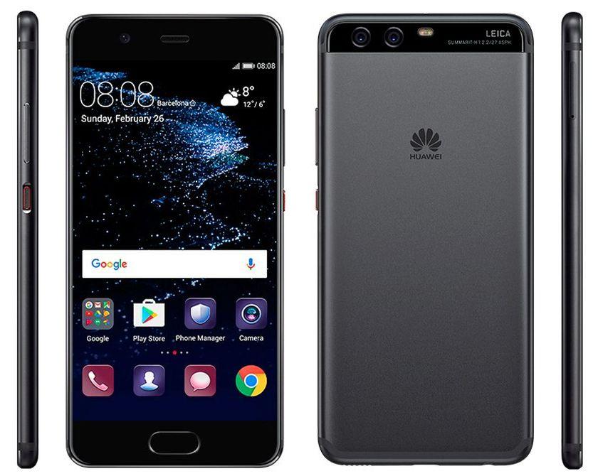 Утечка официальных пресс-рендеров Huawei P10