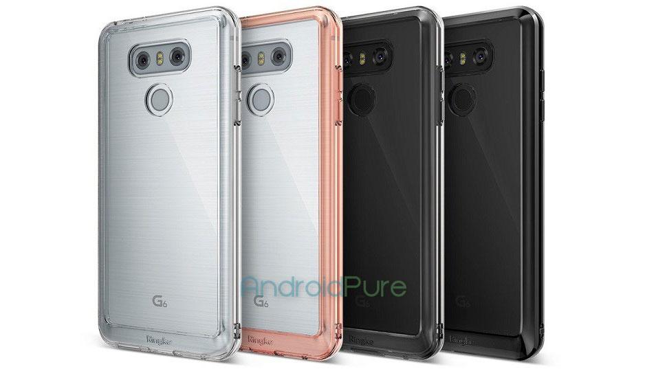 Утечка изображений чехлов смартфона LG G6