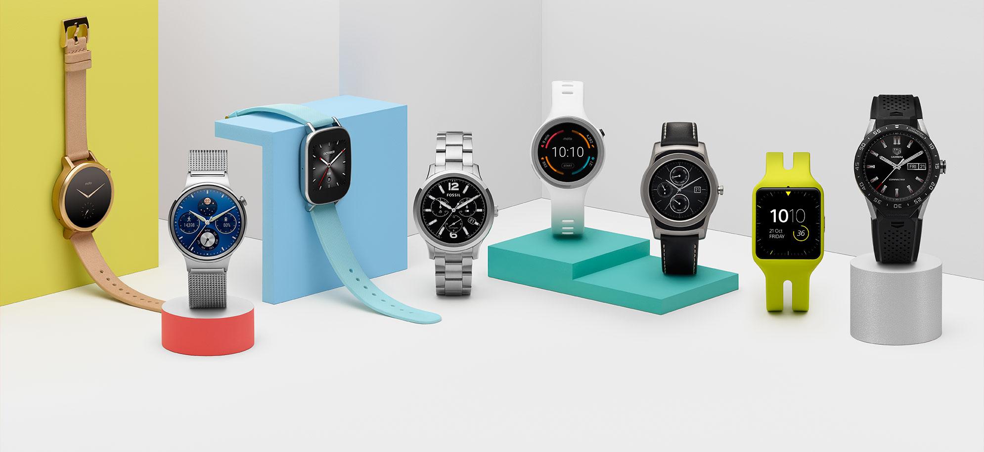 Какие смарт-часы получат обновление Android Wear 2.0?