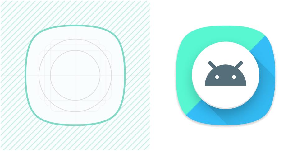 Как будут работать адаптивные иконки на Android O