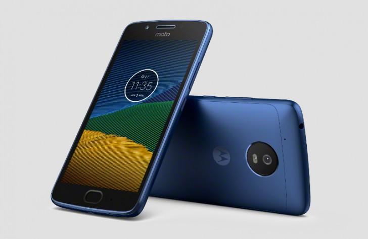 Утечка изображения Moto G5 в цвете Blue Sapphire