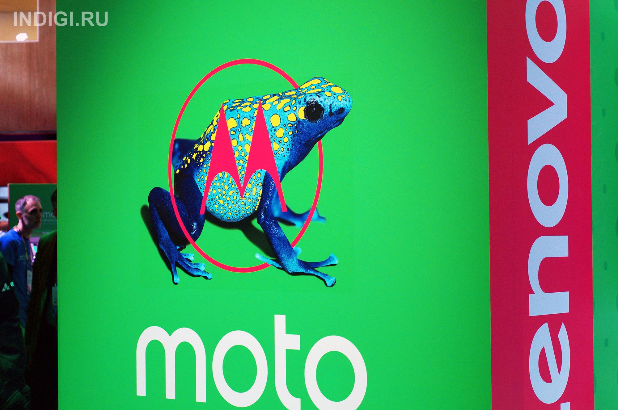 Преемник Moto Z используется для демонстрации скоростей Gigabit Class LTE от Sprint
