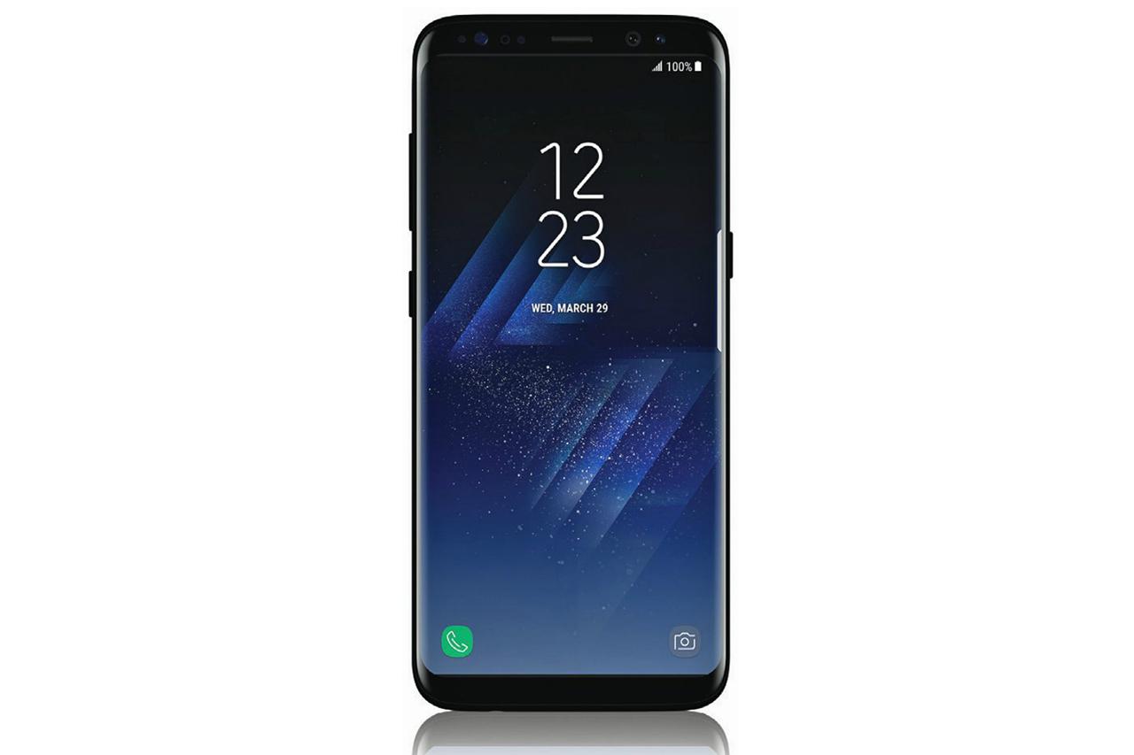 Новая утечка фотографий Samsung Galaxy S8 с памятью 6GB в глянцевом черном цвете