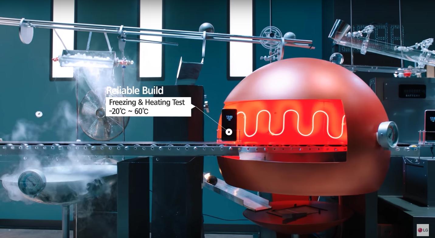 Жесткое тестирование смартфона LG G6