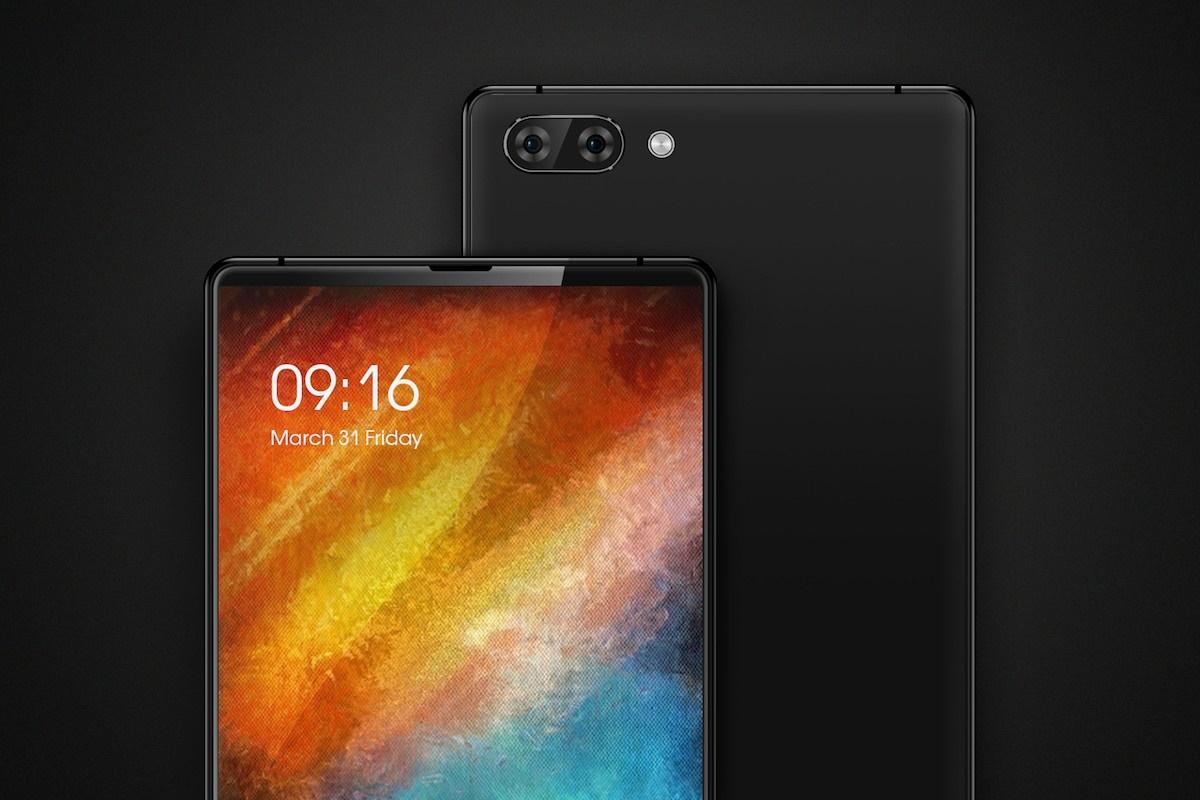 Утечка изображений и спецификаций безрамочного смартфона Maze Alpha