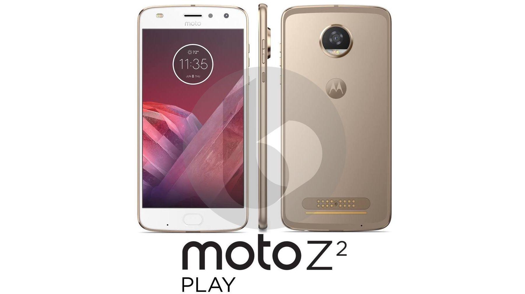 Первая утечка Moto Z2 Play