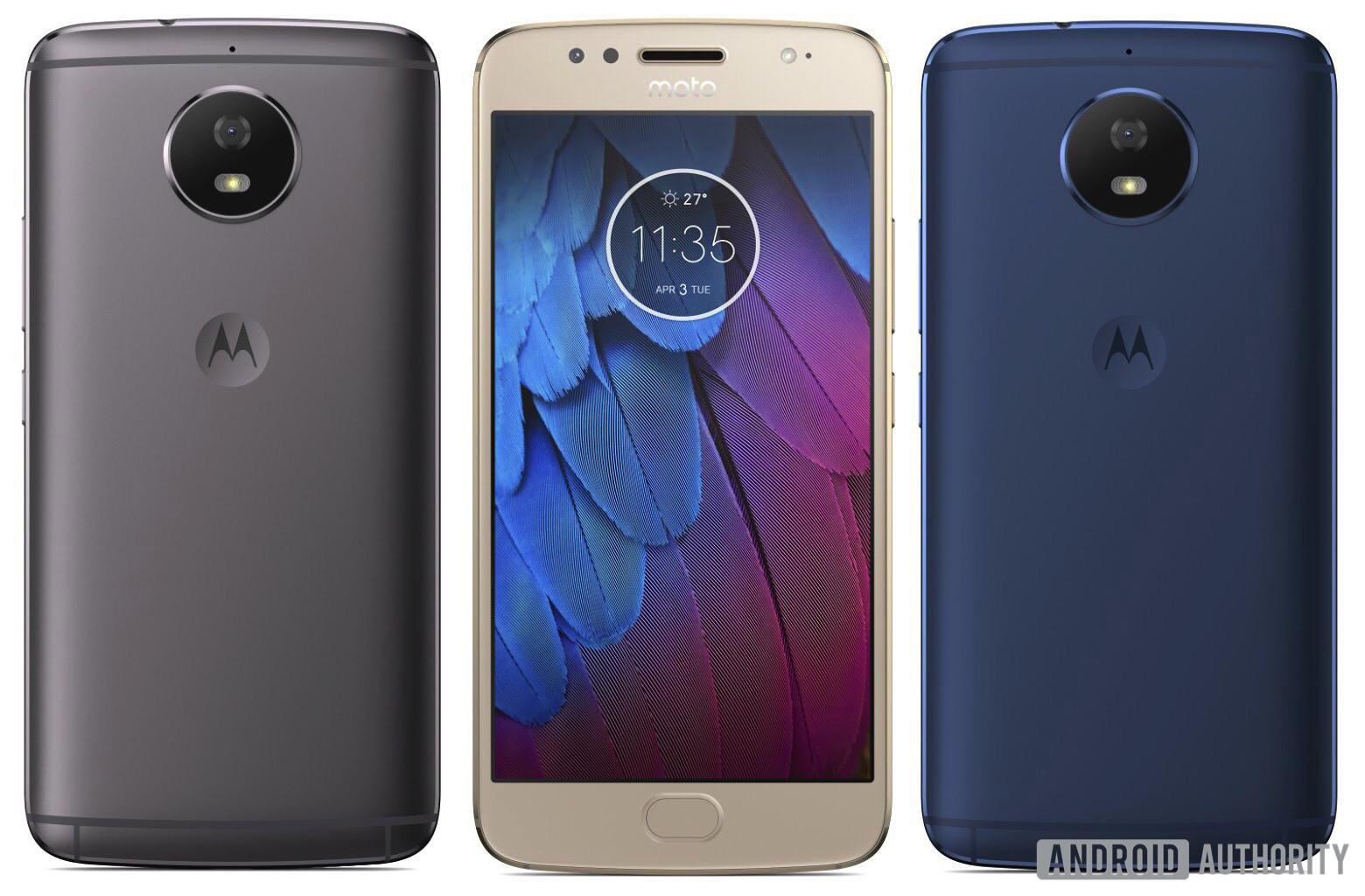 Первый взгляд на Motorola Moto G5S