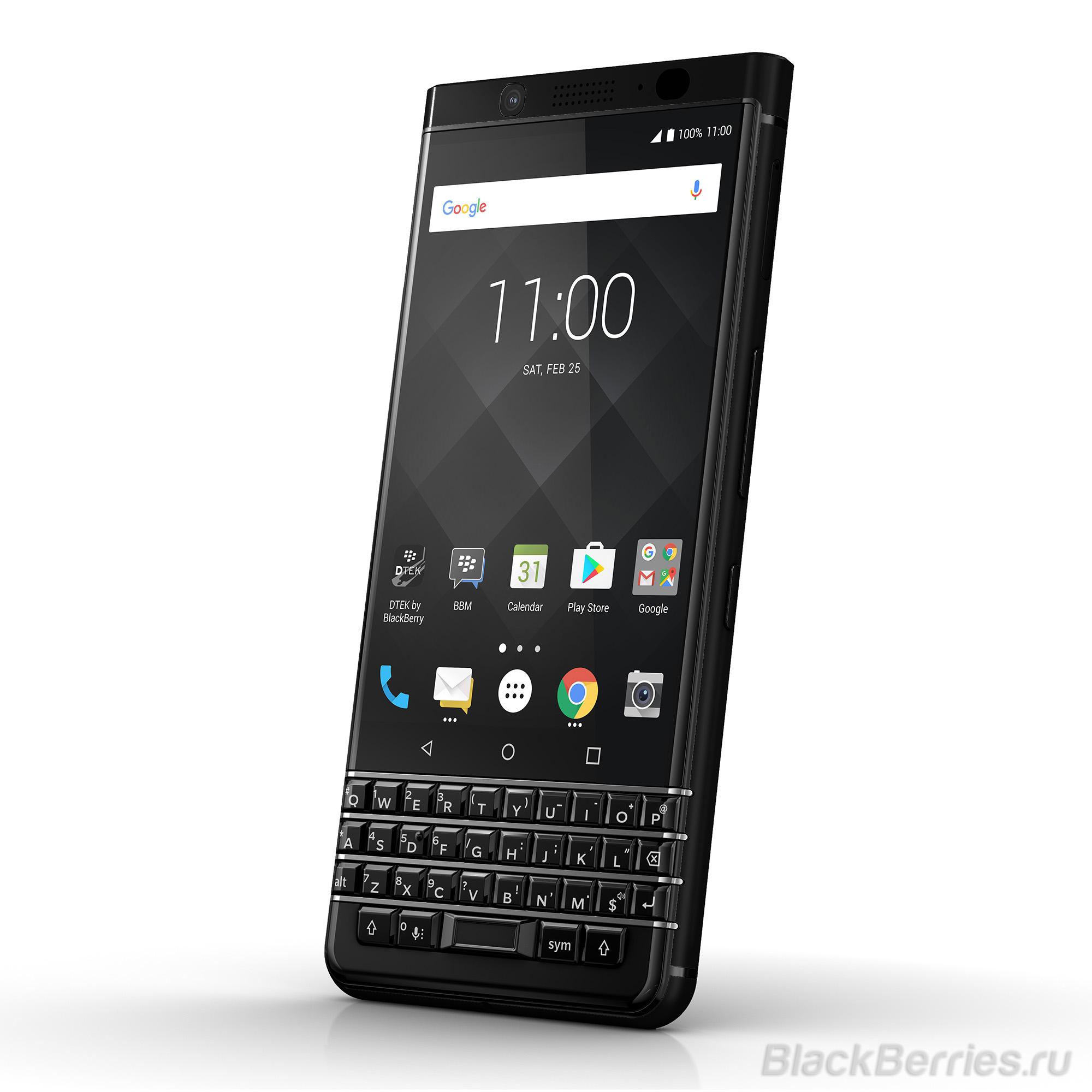 BlackBerry KEYone Black Edition получит 4ГБ оперативной и 64ГБ встроенной памяти