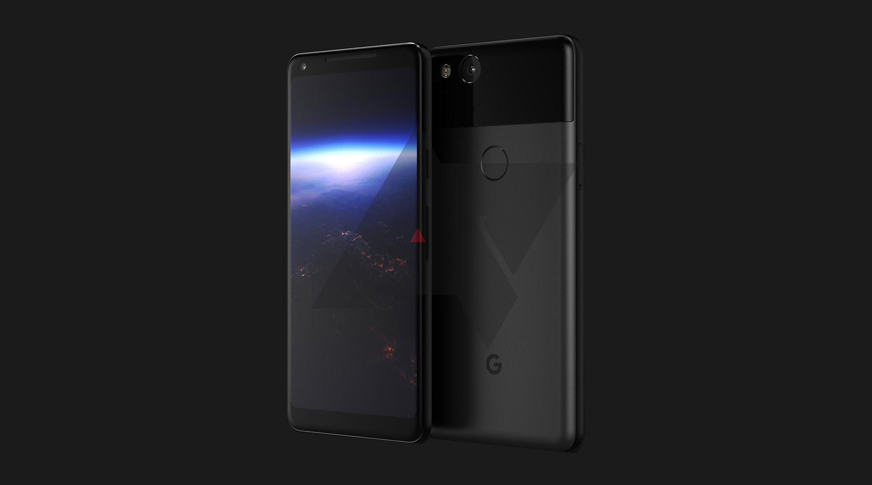 Первая утечка изображения Google Pixel XL 2
