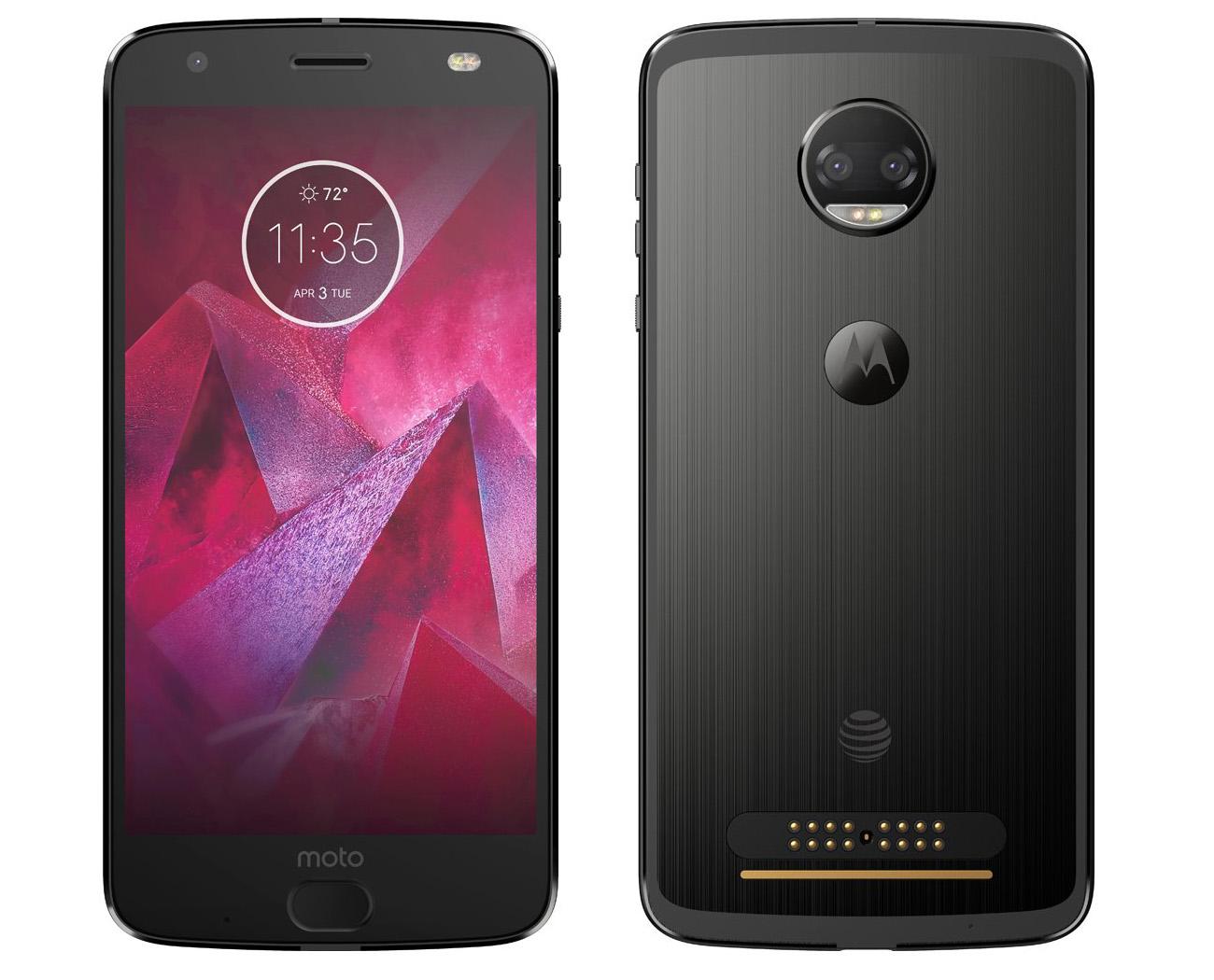 Первое официальное изображение нового смартфона Motorola Moto Z2 Force