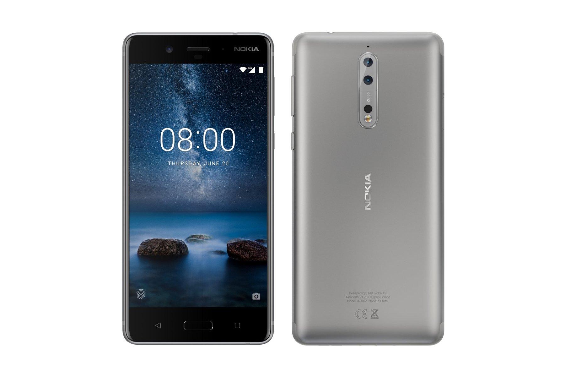 Nokia 8 будет представлен 16 августа