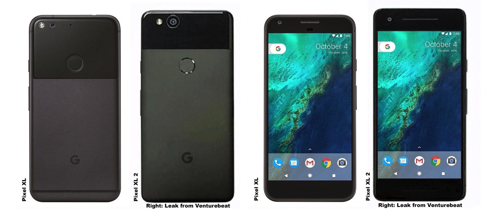 Google Pixel XL 2 в сравнении с оригинальным Pixel XL