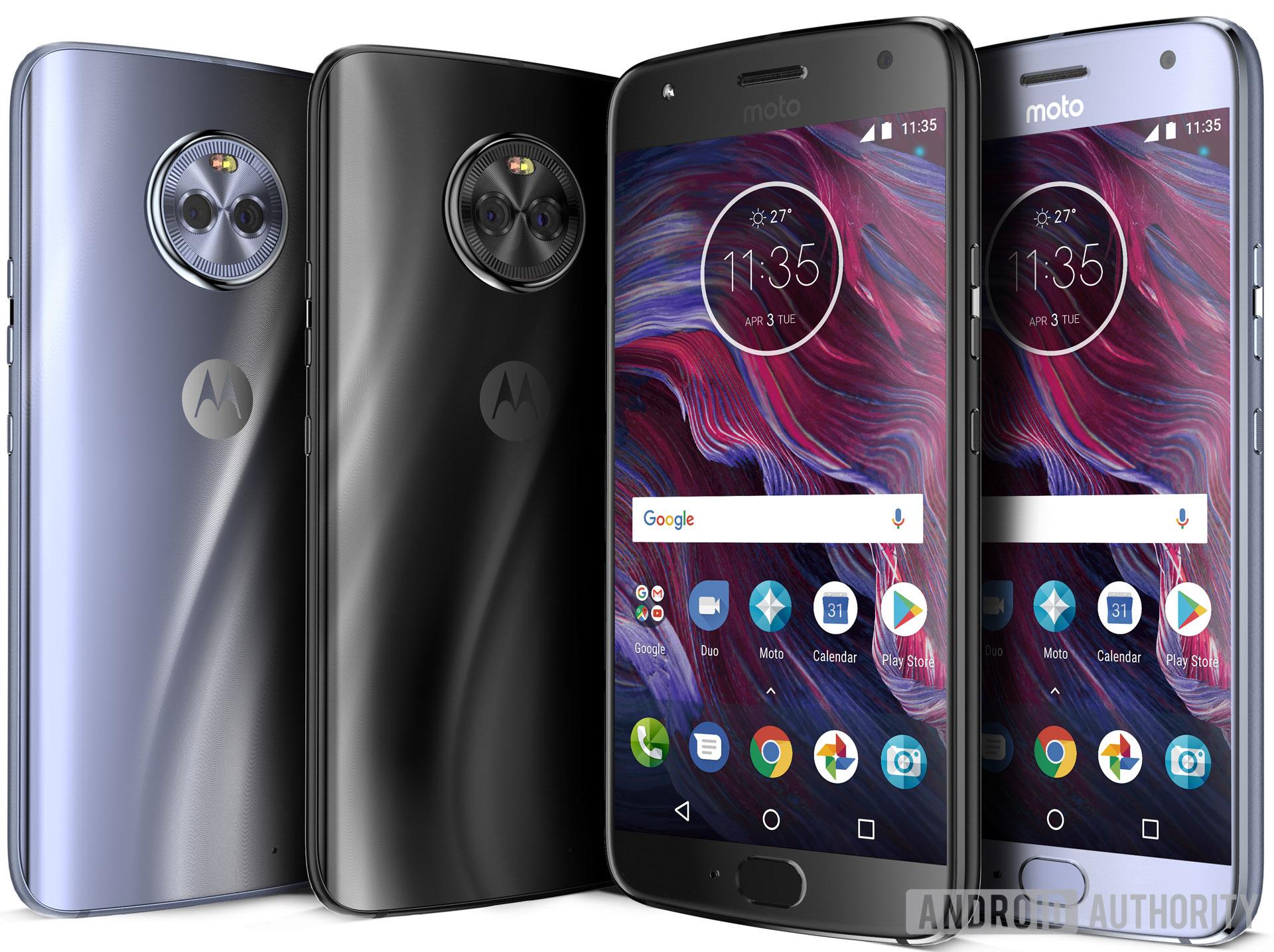 Эксклюзивные изображения нового Motorola Moto X4