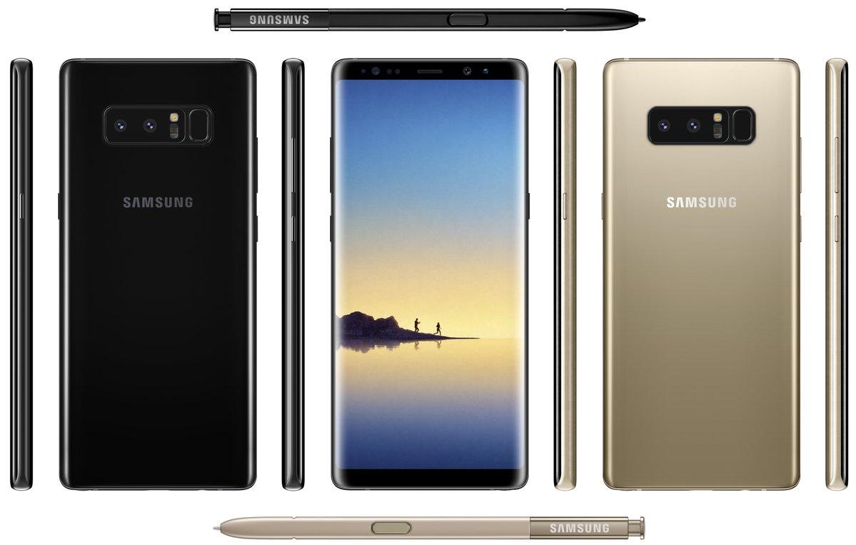 Galaxy Note 9 станет первым смартфоном Samsung с встроенным в дисплей сканером отпечатков