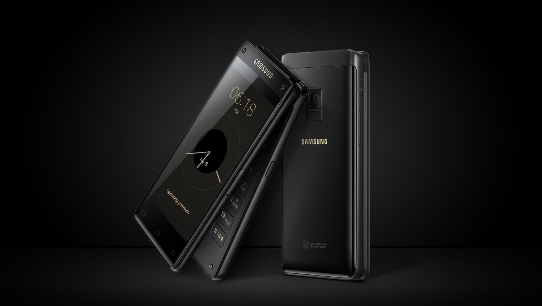 Топовая раскладушка Samsung Leader 8