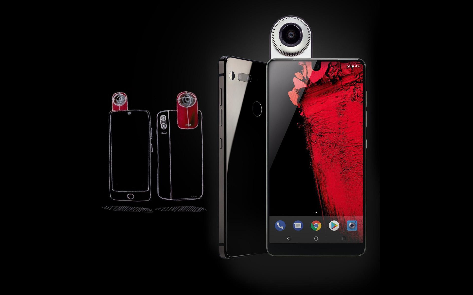 Продажи Essential Phone начнутся через неделю
