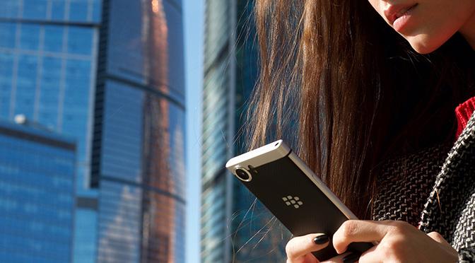 BlackBerry KEYone будет доступен в России официально
