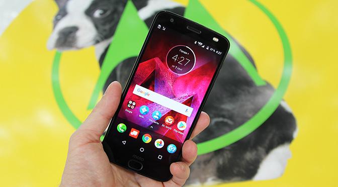 Обзор нового смартфона Motorola Moto Z2 Force